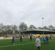 Impressie foto's Walking Football, april 2018