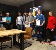 2 nieuwe KNVB clubscheidsrechters bij DZC'68