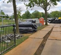 Update in Beeld, aanleg kunstgrasveld (update 30 mei)