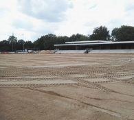 Aanleg kunstgrasveld (15-09-2017)