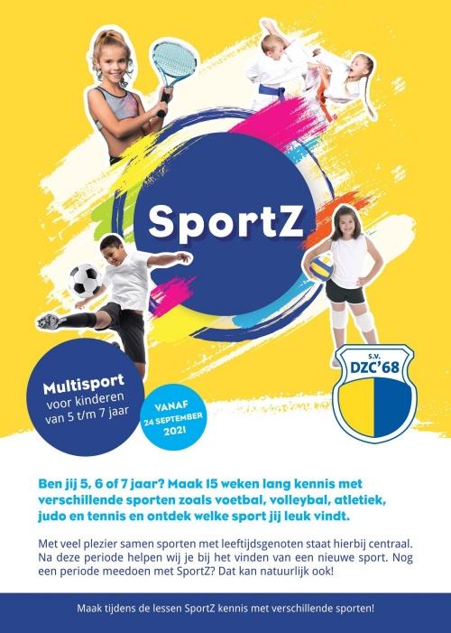 Sportz, ontdek je sport op Sportpark Zuid