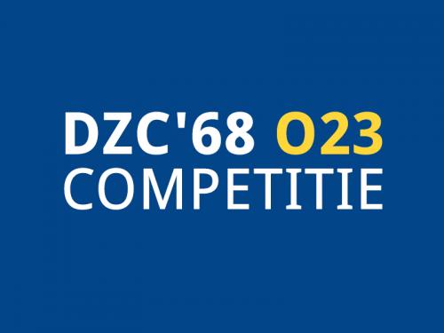 Update DZC'68 JO23-1 (seizoen 2020 – 2021) Update