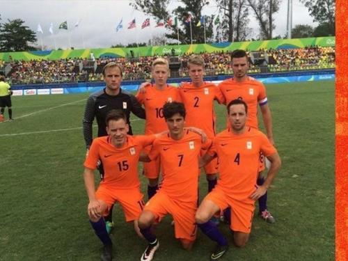 Trots op Thomas Kleinlugtebeld en zijn CP voetbal Team In RIO
