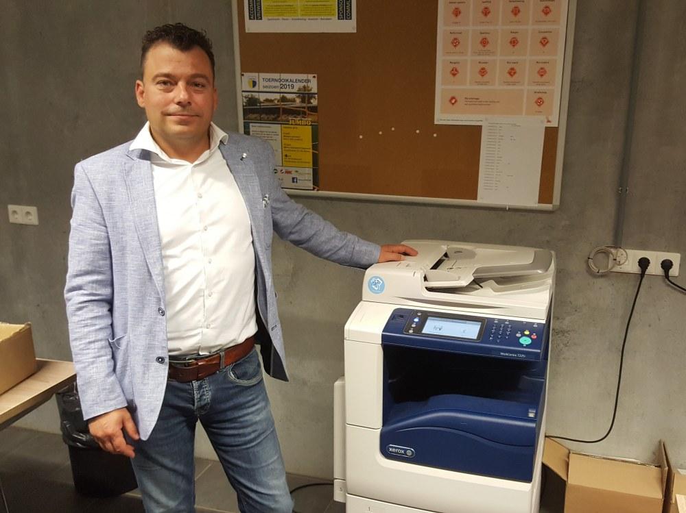 XA Document Solutions levert printer aan DZC'68