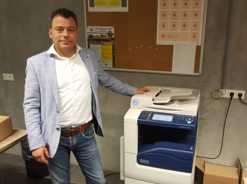 XA Document Solutions levert printer aan DZC'68