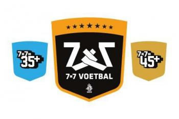 Voetbal voor routiniers: 7x7 35+ en 45+ voetbal.