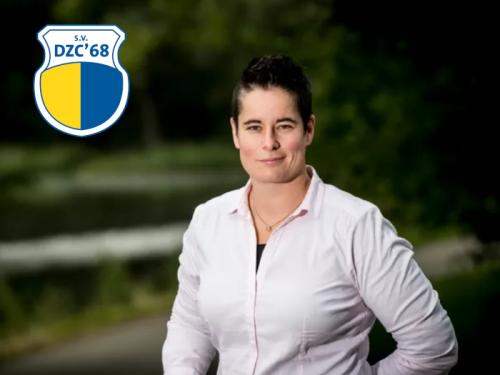 Jantien van der Zijden - Wanrooij hoofdtrainer DZC'68 Vrouwen 1
