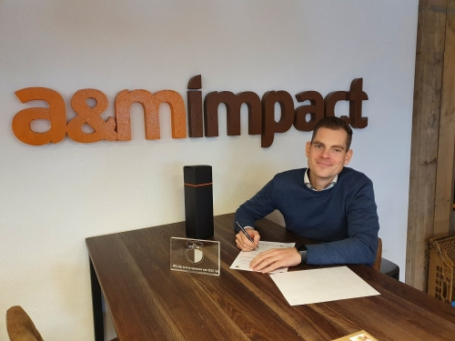 a&m impact internetdiensten bordsponsor DZC'68