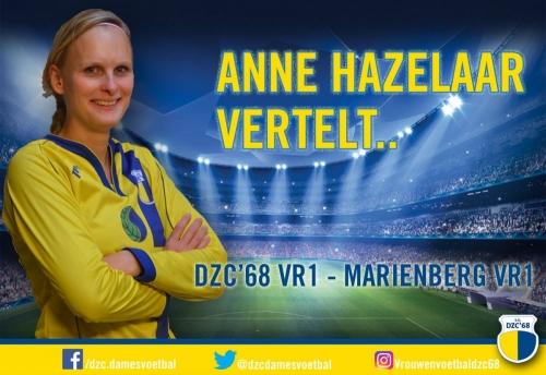 Anne Hazelaar vertelt over DZC'68 VR1 – Marienberg VR1