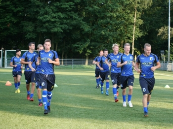 DZC'68 1 op trainingskamp (dag 1)