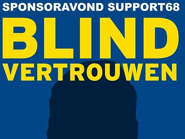Sponsoravond Support68, Blind Vertrouwen