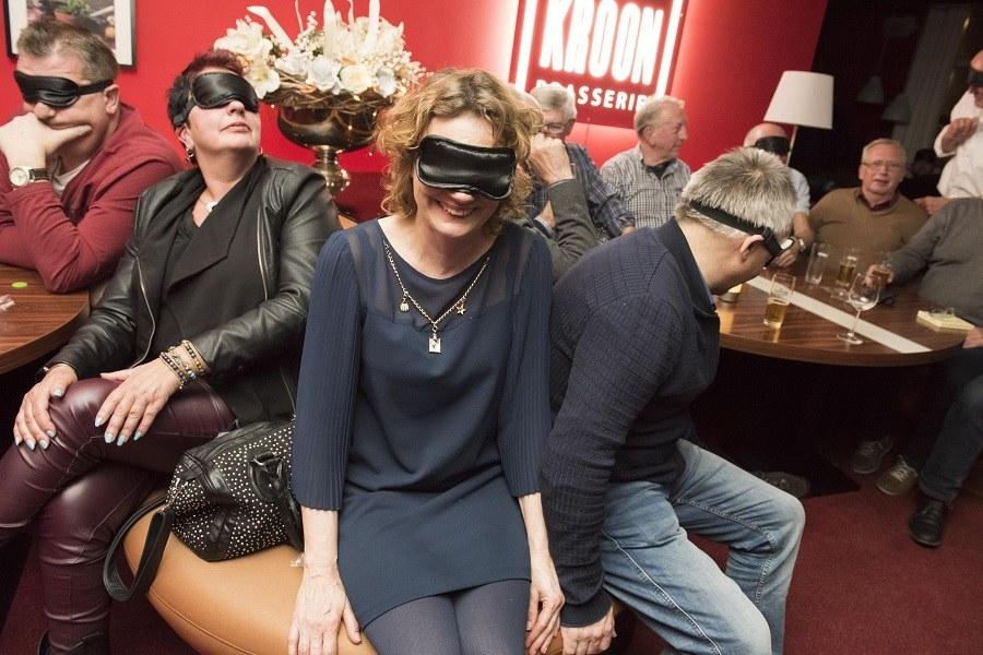 Sponsoravond 30 maart 2017 'Blind vertrouwen' Kroon Brasserie