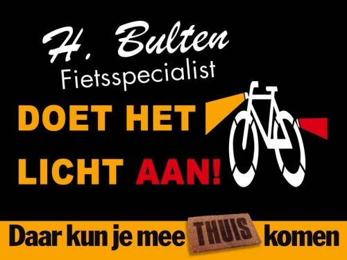 Bulten Tweewielers doet zaterdag het licht aan!