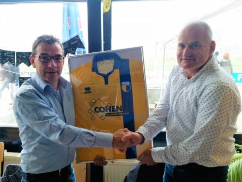 Cohen Machineverhuur teamsponsor JO15-1