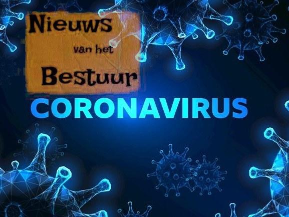 Update van het bestuur, inzake het corona-virus