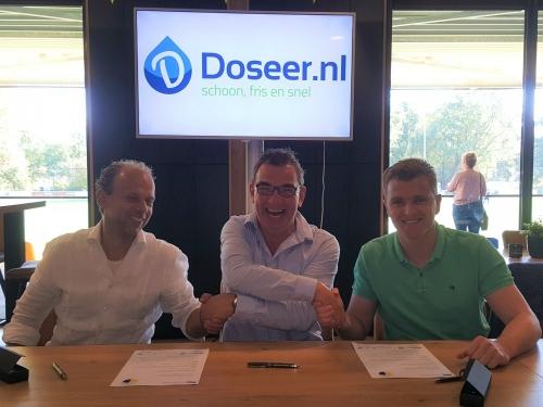 Doseer.nl huisleverancier met Zilveren randje!