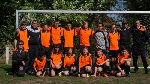 Het Doetinchemse Andere Oranje verslaat Colmsgate en wordt kampioen