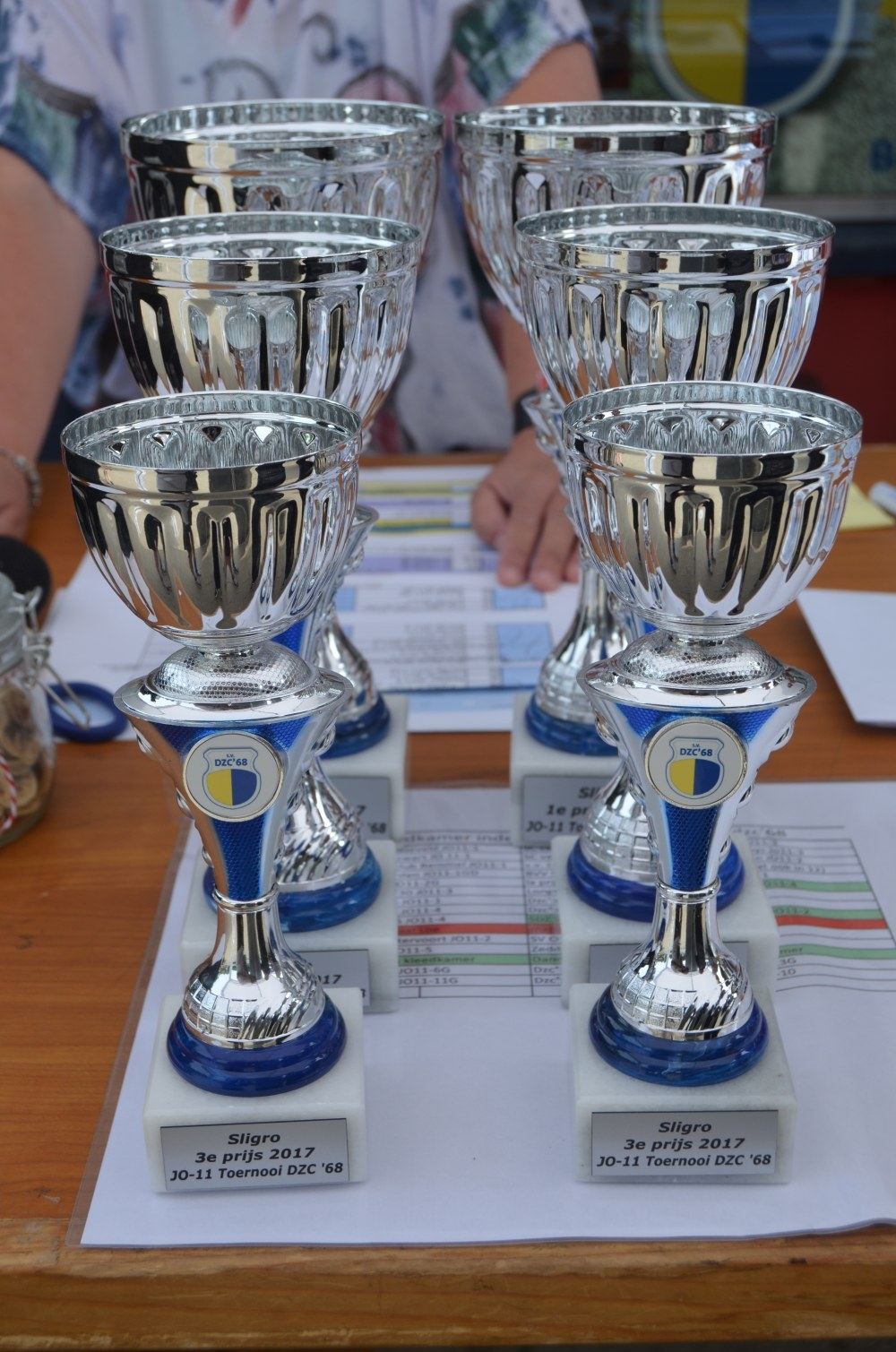 Foto's JO11 toernooi