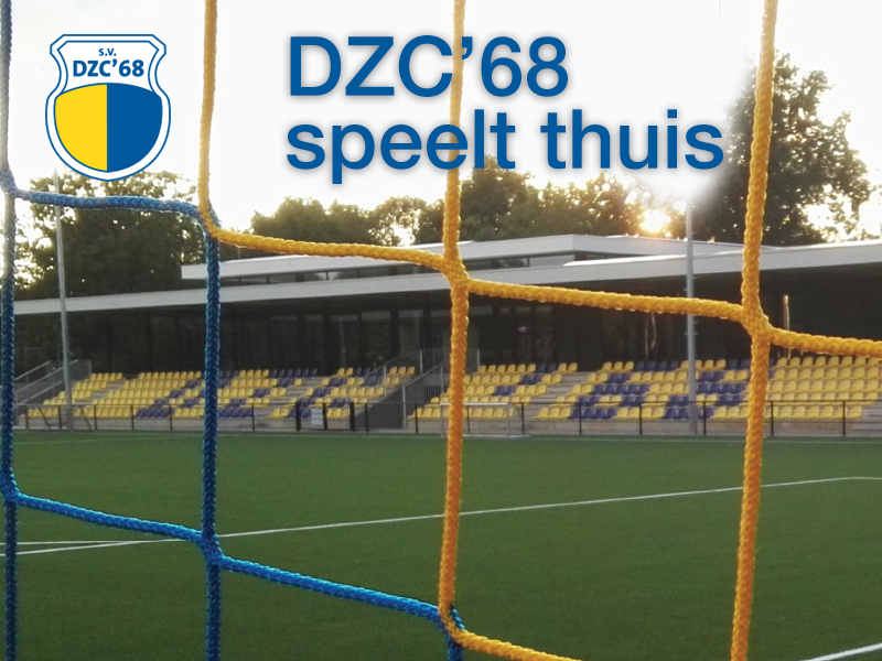 DZC'68 1 treft SVDB voor laatste thuiswedstrijd voor de winterstop