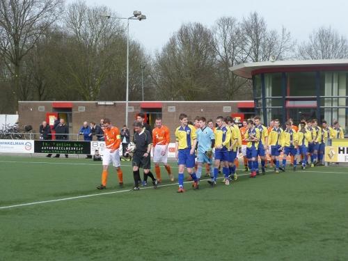 JO19-3 verliest nipt in topwedstrijd tegen DVV