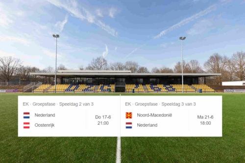 Belangrijke info, omtrent trainingen tijdens speelschema NL elftal
