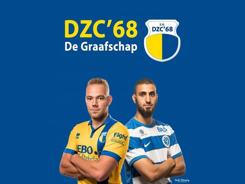 DZC'68 1 - De Graafschap spelen op 9 juli op Sportpark Zuid