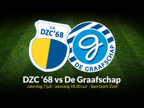 DZC'68 treft De Graafschap in eerste wedstrijd richting Eredivisie