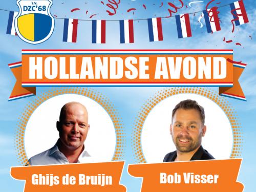 Super Zaterdag op 21 maart - aansluitend Hollandse Avond