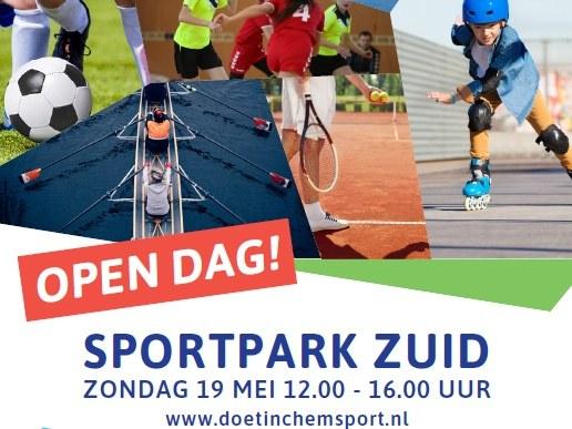 Opendag Sportpark ZUID 19 mei