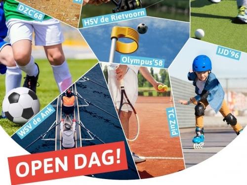 Open dag sportpark zuid Zondag 22 april