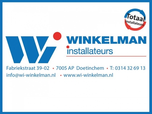 Winkelman Installateurs blijft DZC'68 trouw!