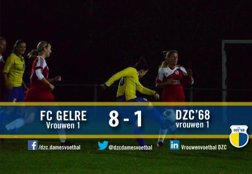 Wedstrijdverslag VR 1 tegen FC-Gelre voor de Achterhoek Cup