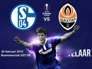 25 februari 2016 BC DZC'68 naar Schalke04 - Shakthar Donetsk