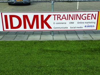 IDMK trainingen nieuwe Bordsponsor DZC'68