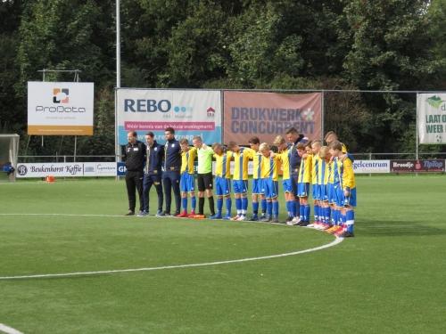 DZC O14-1 laat zich bedriegen in onnodige harde wedstrijd in Wijchen!