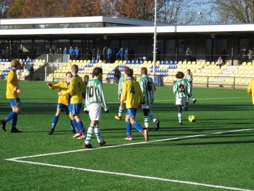 Jo14-1 winnen weer van Spero maar moeizaam met 2-1