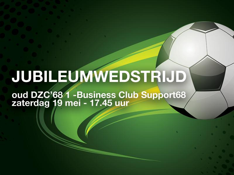 Jubileumwedstrijd  Oud DZC'68 1 – Team Support68