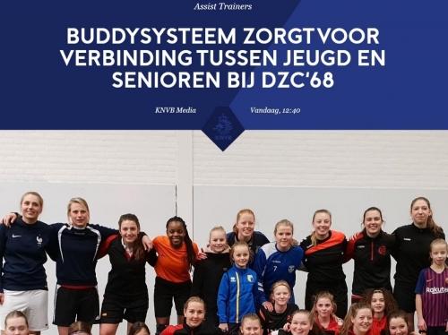 Buddysysteem ook door KNVB opgemerkt