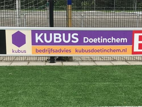 Kubus Doetinchem nieuwe bordsponsor DZC'68