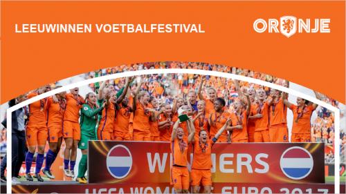 KNVB Leeuwinnen Voetbalfestival