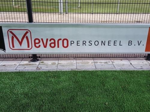 Mevaro Personeel BV bordsponsor DZC'68