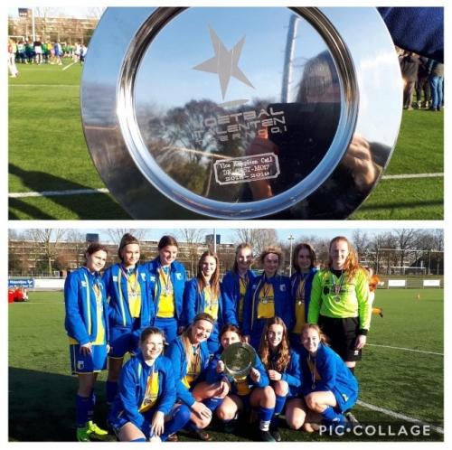 MO17-1 2e plaats op Voetbal Talenten Toernooi (VTT)