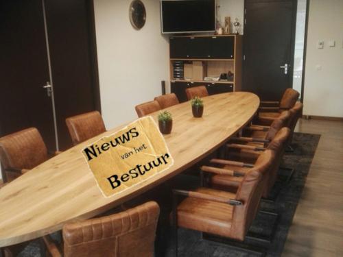 Update van het bestuur