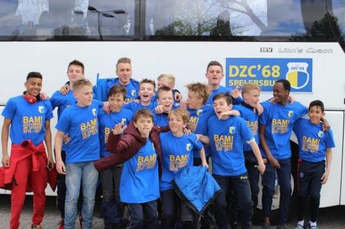 Kampioenen festijn bij DZC'68 (update 22-5-2017)