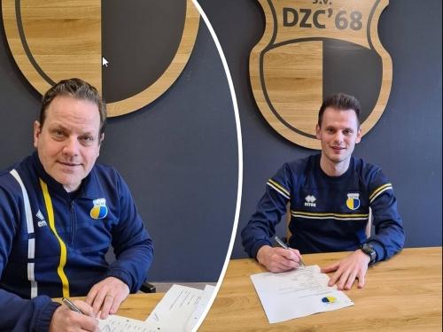 Brian Hogeweide & Patrick Willemsen ook volgend seizoen actief bij DZC