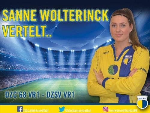 Sanne Wolterinck vertelt over DZC'68 VR1 – DZSV VR1
