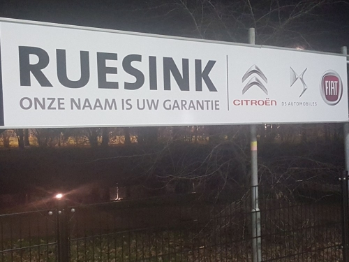 Autobedrijf Ruesink Doetinchem sponsor bij DZC'68