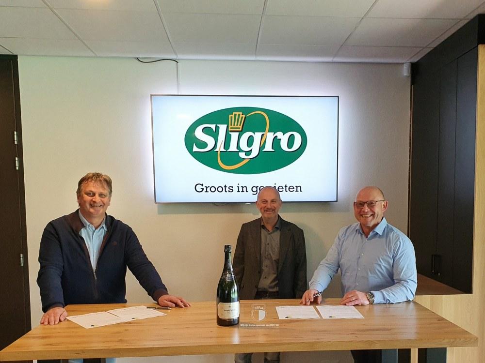Sligro en DZC'68 sluiten duurzame samenwerking