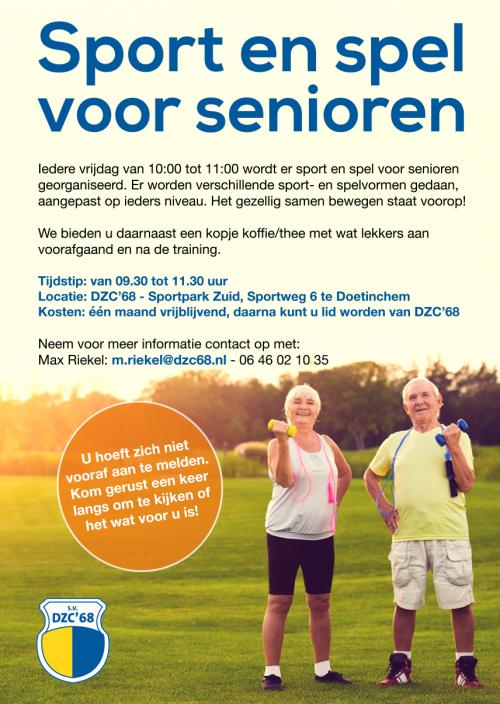 Sport en spel voor senioren