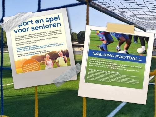 Walking Football en Sport en Spel start weer op